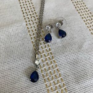 Jewelry - Faux Sapphire Set